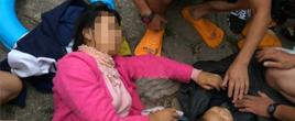 母亲在长江大桥上抛两岁幼女后跳下