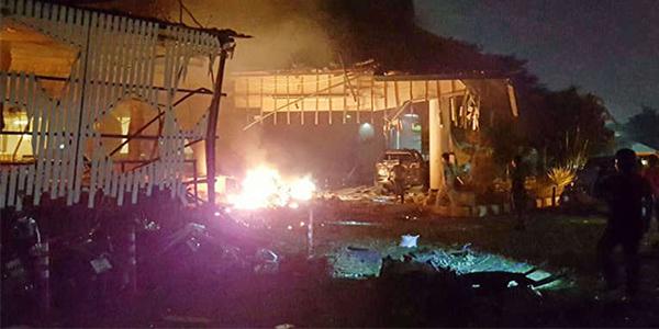 泰两起爆炸30死伤 地震致佛塔坍塌