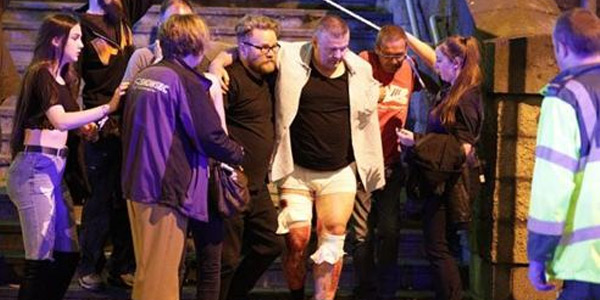 曼彻斯特体育场爆炸致19死50余伤