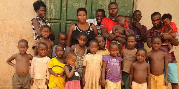 她12岁嫁人结婚25年竟生了38个孩子