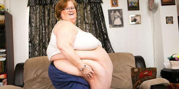 54岁大妈以胖为美.却肥胖找到真爱