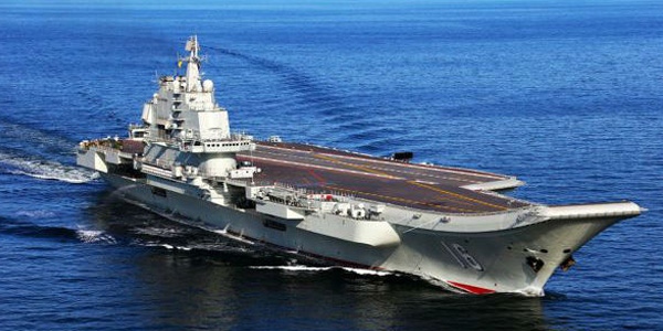 重大信号?特殊时刻辽宁舰驶入台湾海峡