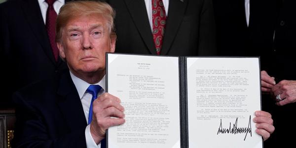 美国将对600亿美元中国商品加征关税