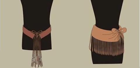 新疆小河墓地25件腰衣完?#23578;?#22797;