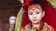 尼泊尔活女神无人敢娶