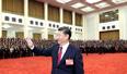 习近平等领导会见出席党的十九大代表等人员