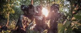 奥地利猎骑兵实战演习 训服独树一帜