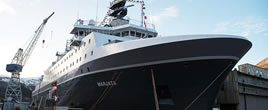 挪威万吨间谍船有何用 帮美国搜情报